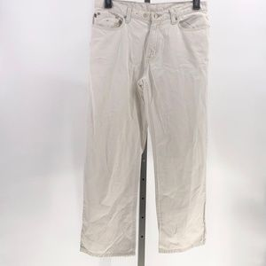 Ralph Lauren cropped Saturday jeans off white 8